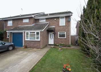 Thumbnail 3 bed semi-detached house for sale in Lamorna Gardens, Westergate, Chichester