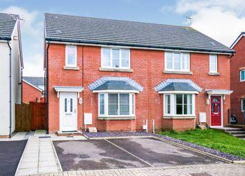 Thumbnail 3 bed semi-detached house for sale in Skylark Road, North Cornelly, Bridgend