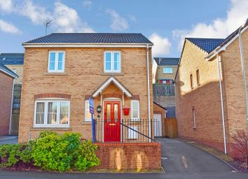 Thumbnail 4 bed detached house for sale in Kingfisher Road, North Cornelly, Bridgend.