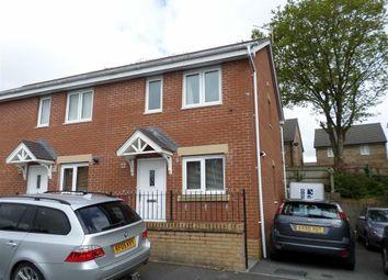 Thumbnail 2 bed end terrace house for sale in Llwyn Teg, Swansea