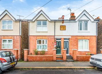 Thumbnail Semi-detached house for sale in Victoria Road, Redhill