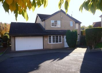 Thumbnail 4 bed detached house for sale in Ashtree Drive, Bedlington