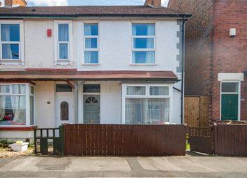 Thumbnail 2 bed semi-detached house for sale in Trafalgar Road, Beeston, Nottingham