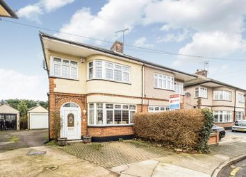 Thumbnail 3 bed semi-detached house for sale in Eyre Close, Gidea Park, Romford
