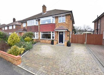 Thumbnail 3 bed semi-detached house for sale in Crowland Road, Luton