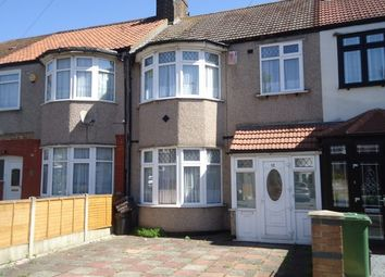 Thumbnail 3 bed terraced house to rent in Ridgeway Gardens, Ilford