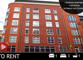 Thumbnail 3 bed flat to rent in Blenheim Court, 2 Church Street, Leicester, Leicestershire