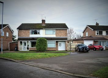 Thumbnail 3 bed semi-detached house for sale in Falcon Road, Anstey, Leicester