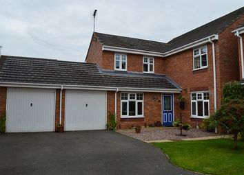 Thumbnail 5 bed detached house for sale in Darwin Close, Market Drayton