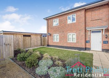 Thumbnail 1 bed flat for sale in Jeckells Road, Stalham, Norwich