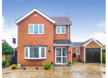 Thumbnail 3 bed detached house for sale in Balliol Drive, Scunthorpe