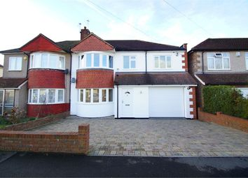 Thumbnail 4 bed semi-detached house for sale in Onslow Drive, Sidcup, Kent