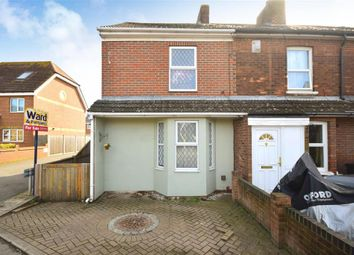Thumbnail 4 bed end terrace house for sale in Ashley Avenue, Cheriton, Folkestone, Kent