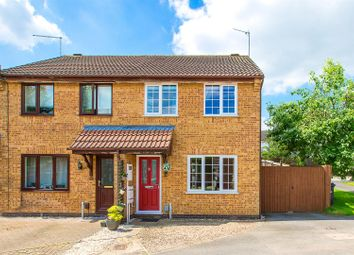 Thumbnail 3 bed semi-detached house for sale in Swinburne Close, Kettering