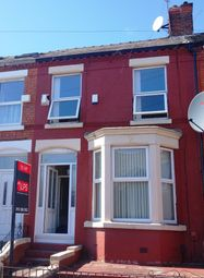 Thumbnail 4 bedroom shared accommodation to rent in Bagot Street, Wavertree