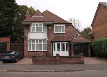Thumbnail 3 bed detached house for sale in Devonshire Road, Handsworth Wood, Birmingham