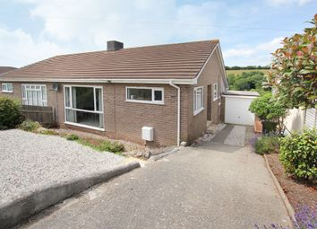 Thumbnail 3 bed semi-detached bungalow for sale in Southland Park Road, Wembury, Plymouth