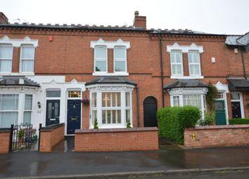 Thumbnail 3 bed terraced house for sale in Grosvenor Road, Harborne, Birmingham