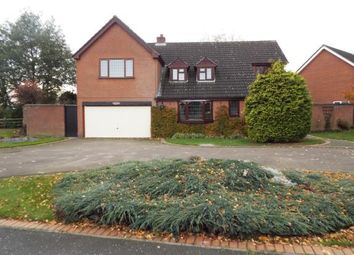 Thumbnail 5 bed detached house for sale in Brascote Road, Hinckley, Leicestershire