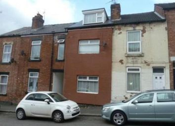 Thumbnail 3 bed terraced house to rent in Ellerton Road, Sheffield