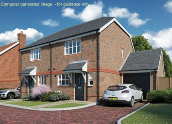 Thumbnail 2 bed semi-detached house for sale in Halsey Meadows, Ricardo Court, Bramley, Guildford