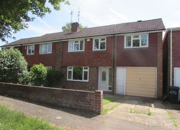Thumbnail 4 bedroom semi-detached house for sale in Bradden Close, Kingsthorpe, Northampton