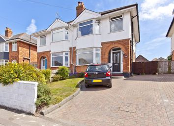 Thumbnail 4 bed semi-detached house for sale in Seafield Road, Southbourne, Bournemouth