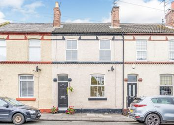 Thumbnail 2 bed terraced house for sale in Bromborough Road, Bebington, Wirral