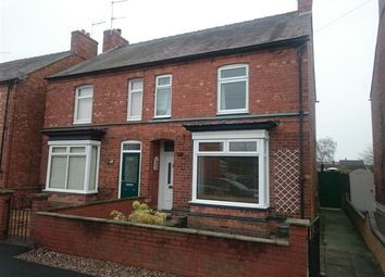 Thumbnail 2 bed semi-detached house for sale in Station Road, Wem
