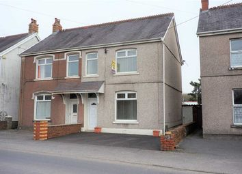 Thumbnail 3 bed semi-detached house for sale in Carmarthen Road, Cross Hands, Llanelli