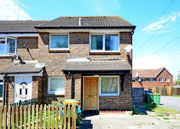 Thumbnail 1 bed end terrace house for sale in Ashwell Close, Beckton