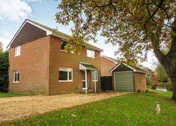 Thumbnail 4 bed detached house for sale in Tees Farm Road, Colden Common, Winchester