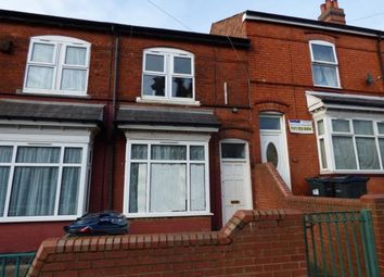 Thumbnail 3 bed terraced house for sale in Esme Road, Sparkbrook, Birmingham, West Midlands