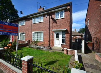 Thumbnail 3 bed semi-detached house for sale in Convent Avenue, South Kirkby, Pontefract
