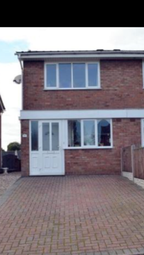 Thumbnail 2 bed semi-detached house to rent in Meadow Lane, Newhall