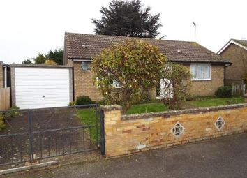 Thumbnail 2 bedroom bungalow for sale in Southery, Downham Market, Norfolk