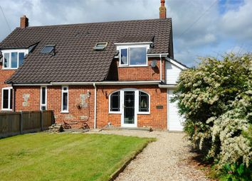 Thumbnail 3 bedroom semi-detached house for sale in Kimberley Road, Bacton, Norwich, Norfolk