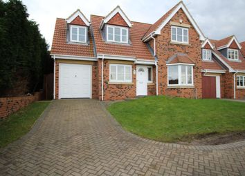 Thumbnail 4 bed detached house to rent in Farmbank Road, Ormesby, Middlesbrough