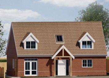 Thumbnail 4 bedroom bungalow for sale in Whatfiled Road, Elmsett, Ipswich, Suffolk