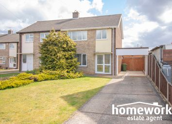 Thumbnail 3 bed semi-detached house for sale in Barnaby Close, Dereham