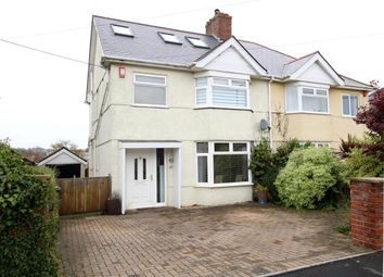 Thumbnail 4 bed semi-detached house for sale in Fort Austin Avenue, Crownhill, Plymouth