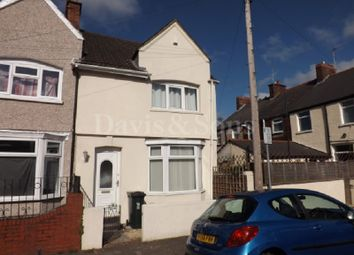 Thumbnail 2 bed end terrace house to rent in Colne Street, Newport, Newport.