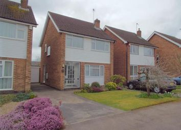 Thumbnail 3 bedroom detached house for sale in Eton Close, Leicester