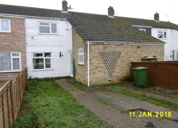 Thumbnail 2 bedroom terraced house to rent in Coldham Norths, Huntingdon