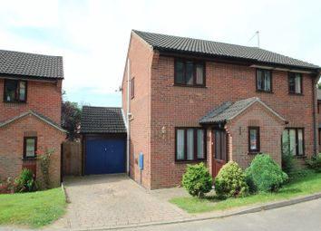 Thumbnail 2 bedroom semi-detached house for sale in Deepdale, Brundall, Norwich