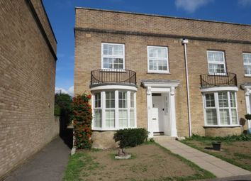 Thumbnail 3 bed end terrace house for sale in Chantry Close, Highcliffe, Christchurch