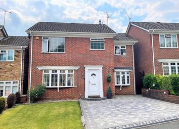 Thumbnail 4 bed detached house for sale in Birchwood Drive, Lightwater, Surrey