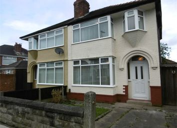 Thumbnail 3 bed shared accommodation to rent in Ashbourne Crescent, Liverpool, Merseyside