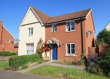 Thumbnail 3 bed property to rent in Bishy Barnebee Way, Threescore, Norwich