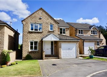 Thumbnail 4 bed detached house for sale in Woodlea Avenue, Lindley, Huddersfield